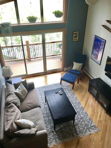 Eclectic 2 bedroom+loft/2 bath