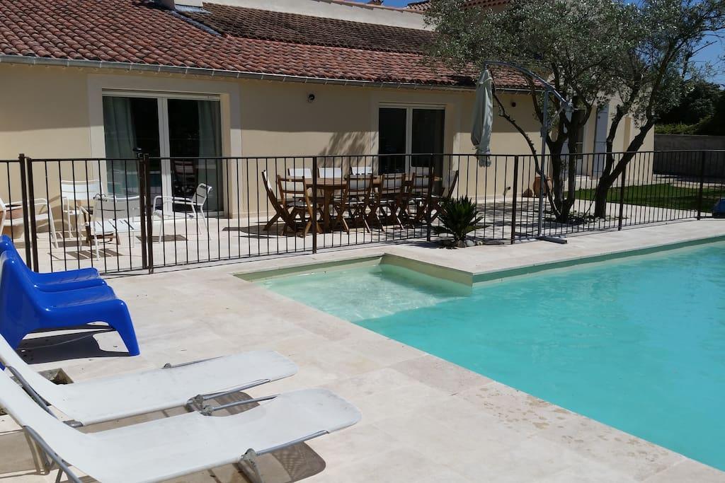 petite plage piscine (50cm h)
