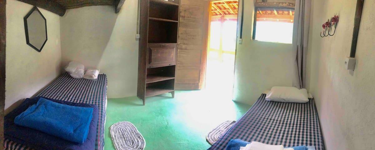 Ecohospedaria e Refúgio Natural Rancho - Uma cama