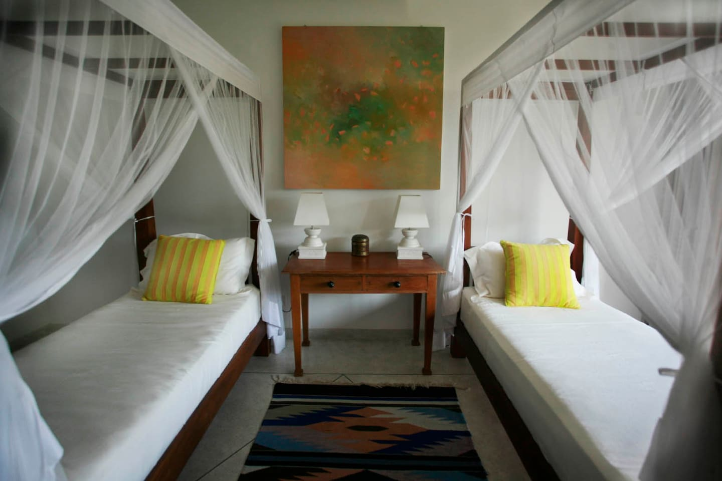 Our beautiful Twin bed room.