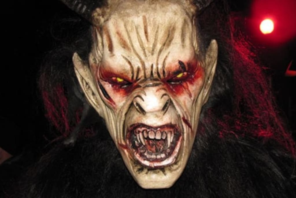 Krampus high season for him. Check out the dates