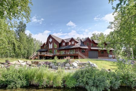 Alaska Lake Front Luxury - Big Lake