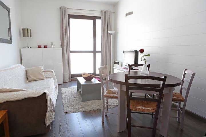 Très beau studio au front de neige - Isola 2000 - Apartamento