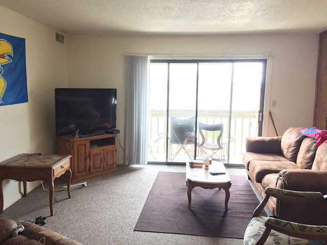 Affordable apartment sublease, walk to KU! - Lawrence - Appartement