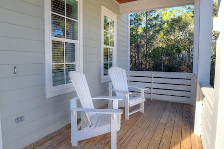 30A Beach Cottage with Private Pool & Bikes! - Santa Rosa Beach - House