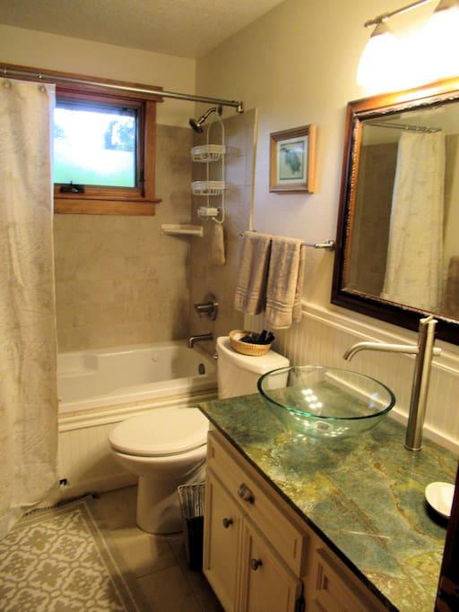 Beautiful Guest Bathroom