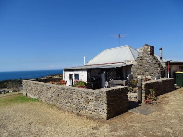 KI Heritage Listed 1849 Original Stone Cottage