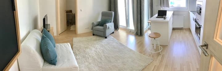 New&fully equipped flat, subway, 15 min - downtown