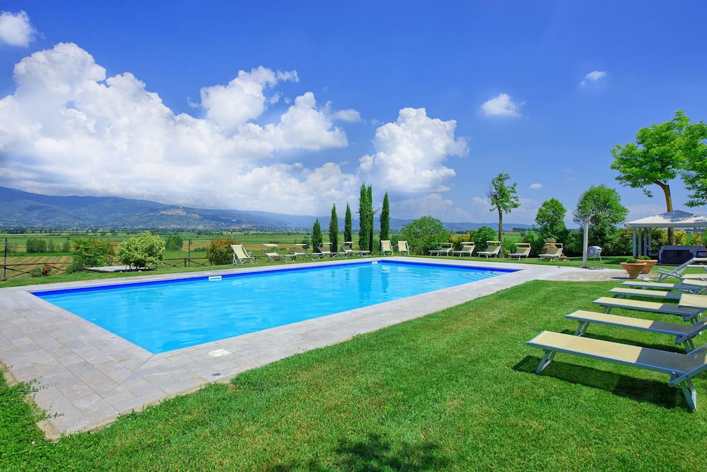 Garden, Outdoor, Pool