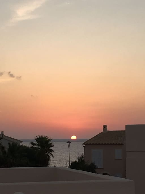 Sunset in Cala Murada ❤ : picture taken by one of our guests