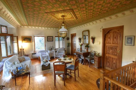 Makrinitsa traditional stone mansion ! - Makrinitsa