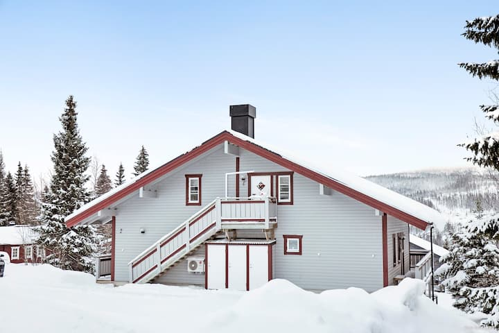 Lägenhet i Åre Tegefjäll, 54 kvm, 6-8 bäddar