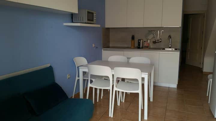 Flat confortable con terraza privada,Espalmador 26