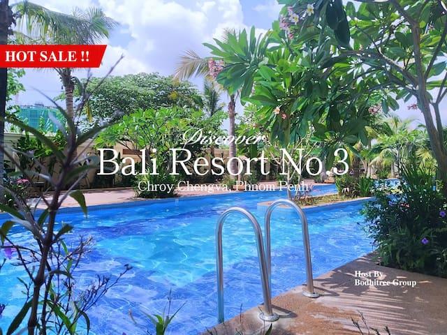 10B10_BigApartment/1BR/Grand View/NiceGym and Pool