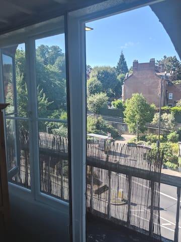 2nd Floor Double Bedroom with Balcony View