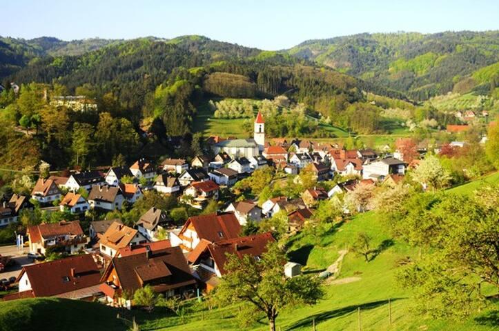 Wohnung für kleine Familie im Schwarzwald