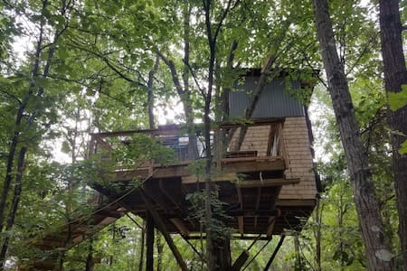Choctaw Treehouse for the family!