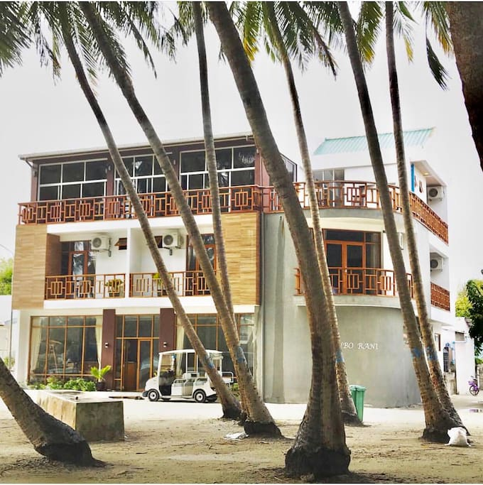 Front view of Kanborani