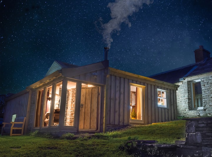 Discover The Magical Little Bothy.  King Sized Bed