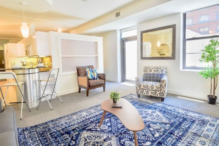 One of the Upscale 1BR Apt in downtown Dallas