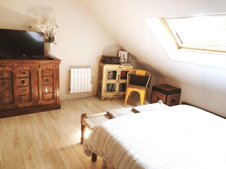 Loft 2 Chambres - Sauna - Mobilier Tendance