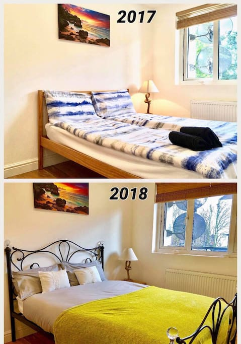 From 1 March 2018 we update in all rooms new beds, duvets and pillows