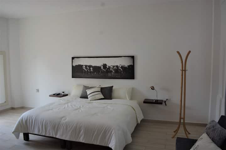 Preciosa suite disenada para confort y seguridad