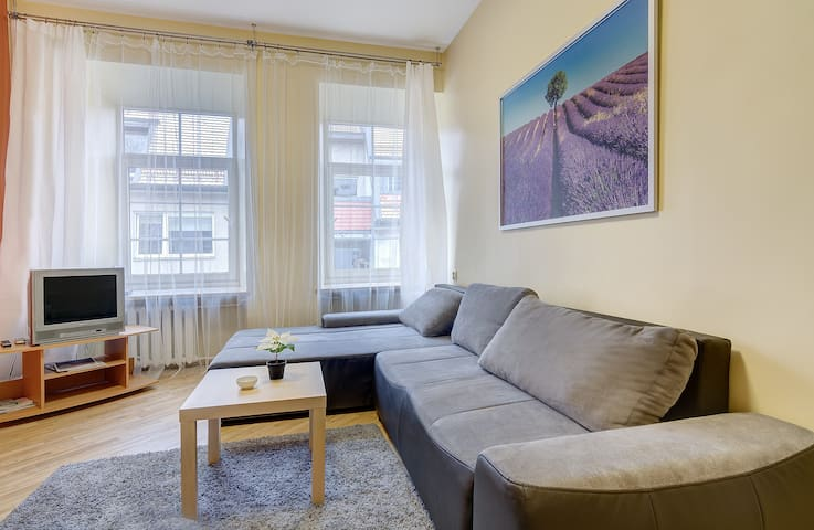 ECONOMIC Flat with 3 Bathrooms + Free Parking