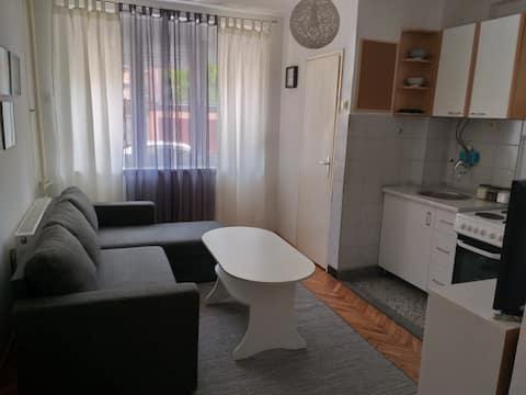 Wit appartement in het stadscentrum + Gratis parkeren