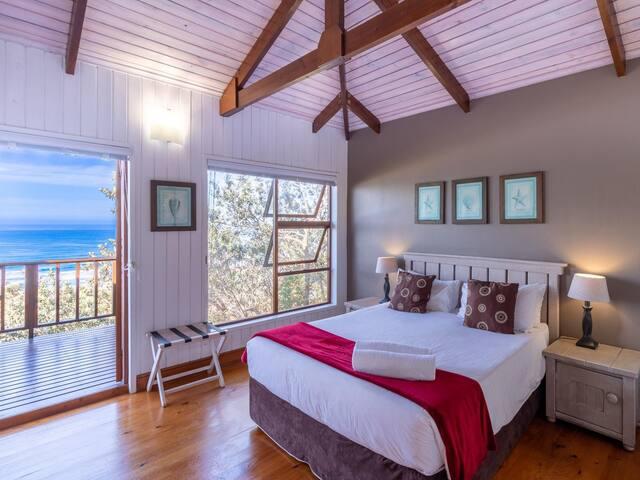 1 Bedroom Simplex Chalet nr 5 - Sea Facing