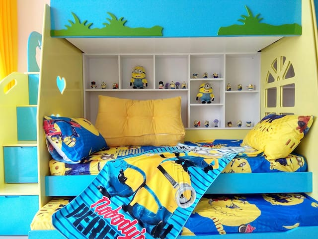 |Sleep8!| Minions Play House @ WIFI  |亲子乐居 |