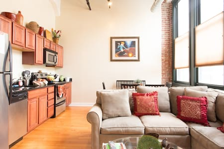Loft Condo in a Historical Bldg - Philadelphia
