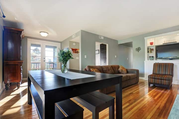 Newly renovated, centrally located