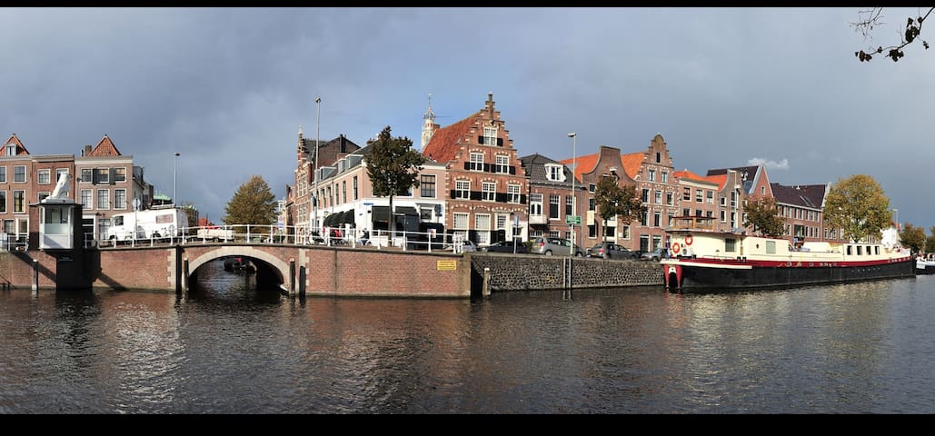 Center of Haarlem,spacious loft,