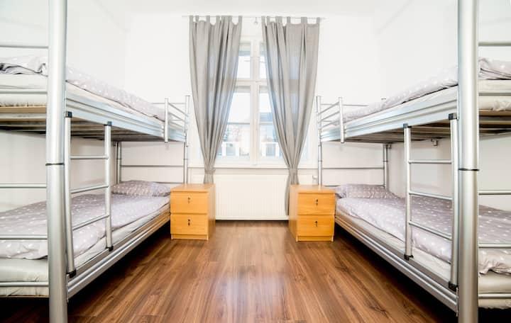Bed in 4-people dormitory room - Max Berg Hostel
