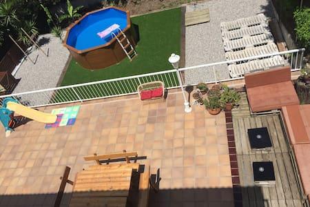 Casa con jardín al pie del Montseny - Riells i Viabrea