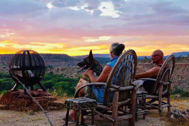 Camp Site C - Alpaca Ranch-Wine Country! VIEWS!