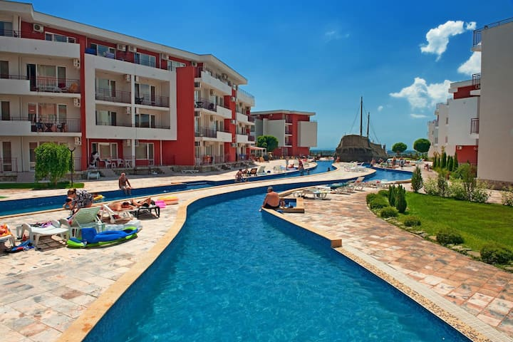 Privilege Fort Beach D4-335 (1bed) - Burgas - Serviced flat