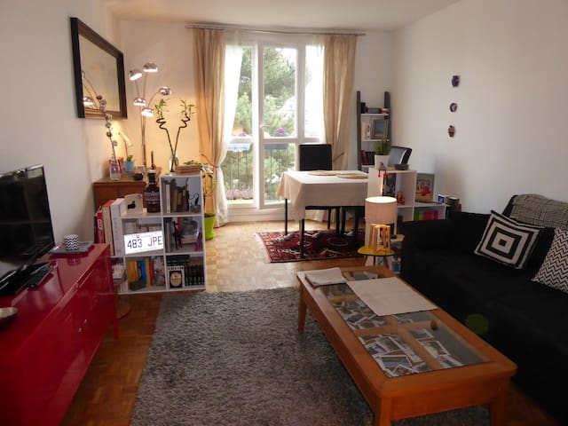 Chambre privée proche centre-ville avec parking - Versailles - Appartement en résidence