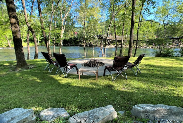 *NEW* Private River Access*Fish*Swim*Tube*Hike*