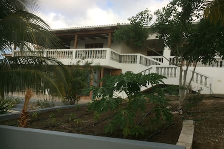 Mila's Guesthouse  with view on Caribbean Sea