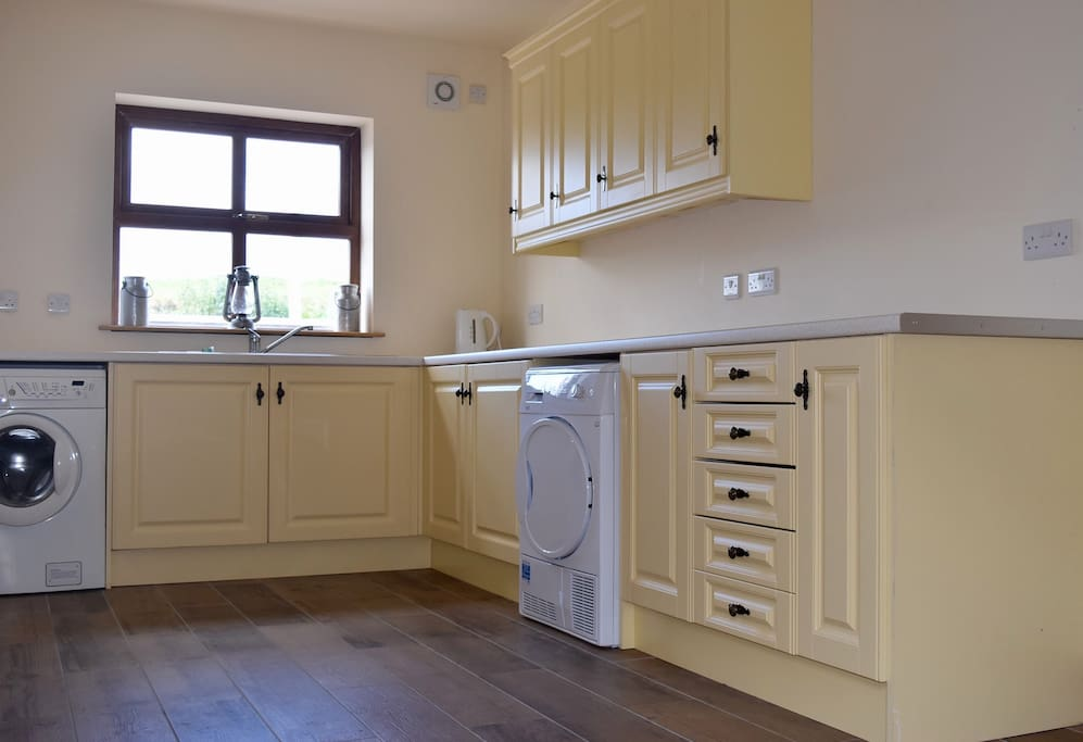 Utility room with washing machine & dryer