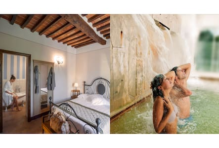 Charming suite with hot thermal spa - Bagno Vignoni