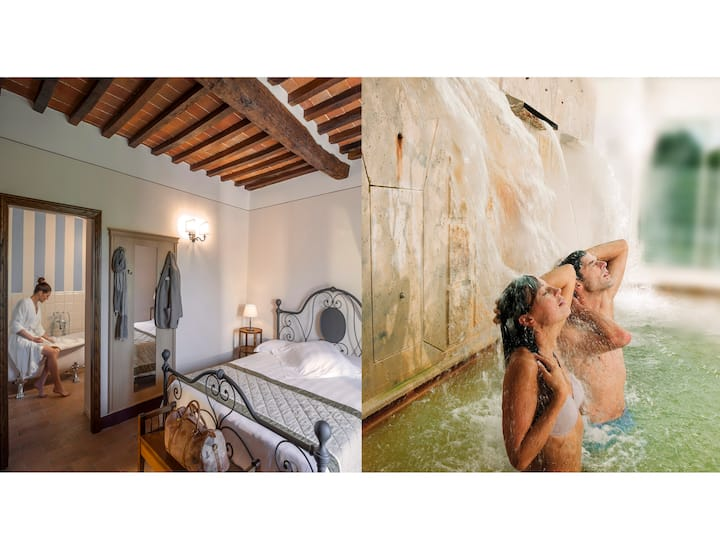 Charming B&B with hot thermal spa
