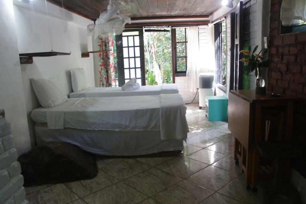 Modo1: duas camas de solteiro