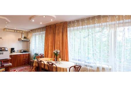 Cozy studio up to 4 people (center) - Kaliningrad - Apartment