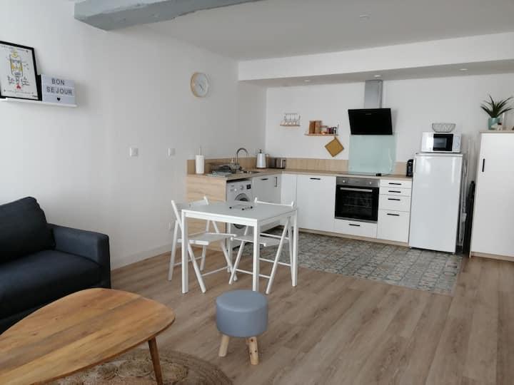 Appartement deux pièces avec entrée indépendante