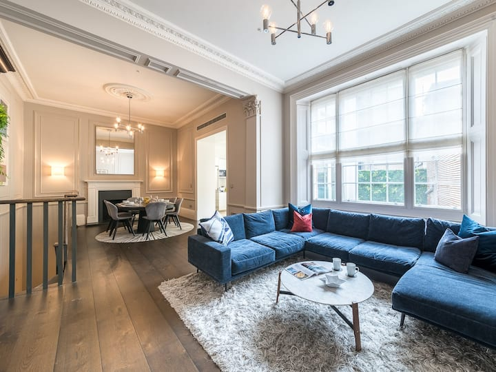 Elegant 2Bed Duplex w/gdn near Buckingham Palace