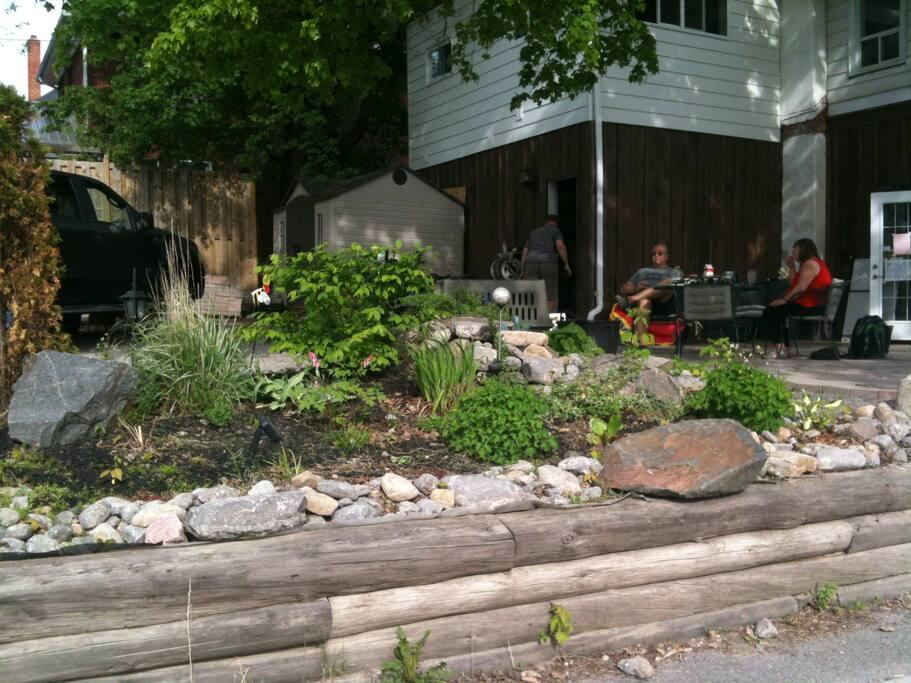 Enjoy large patio and garden
