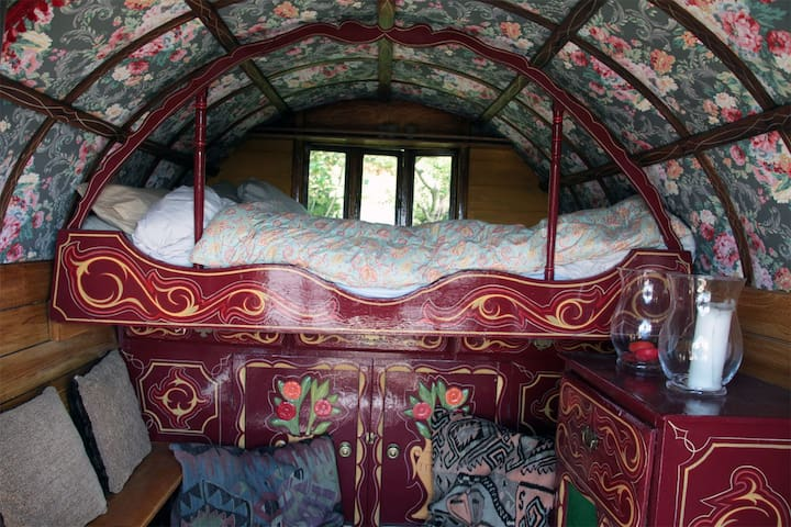 Traditional Gypsy Caravan - Ayside